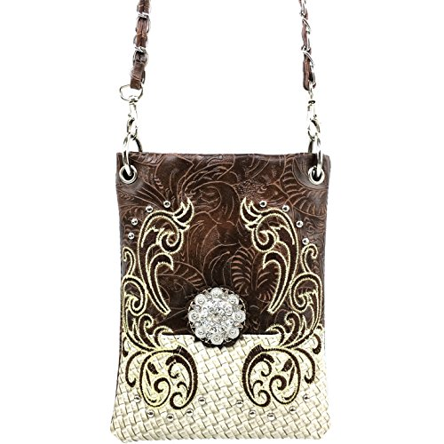 justin-west-western-embroidered-weaved-tooled-concho-crossbody-mini-handbag-phone-messenger-purse-br