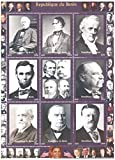 US President stamps for Collectors - 9 mint stamps of American Presidents - never mounted and never hinged