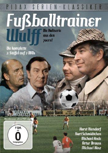 Pidax Serien-Klassiker: Fußballtrainer Wulff - Die komplette zweite Staffel (2 DVDs)