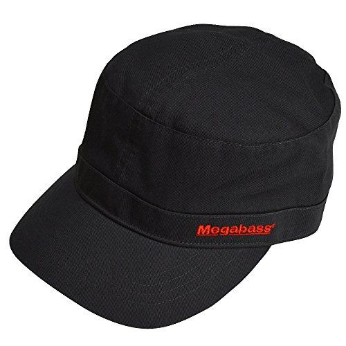 メガバス(Megabass) MEGABASS WORK CAP(ワークキャップ) 2016 ブラック 34907の商品画像