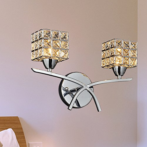 Lampe de chevet moderne de la lampe murale minimaliste Crystal Applique