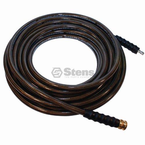 Stens 758-713 Polyester/Steel/Polyurethane Pressure Washer Hose, 4500 psi, 3/8