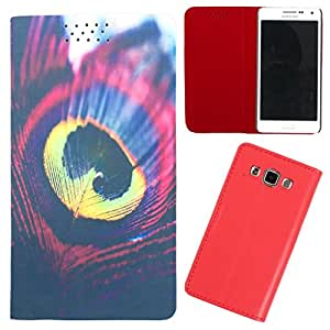 DooDa - For Micromax Canvas Fun A76 PU Leather Designer Fashionable Fancy Flip Case Cover Pouch With Smooth Inner Velvet