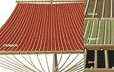 PHAT TOMMY Sunbrella Harwood Deluxe Quilted Reversible Hammock Outdoor Patio Deck Swing-Crimson