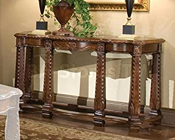 Windsor Court Sofa Table by Michael Amini
