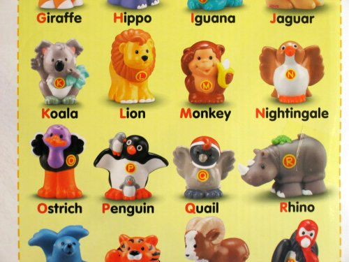 Fisher Price Little People A To Z Learning Zoo Playset