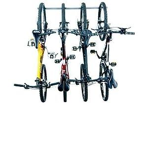 Bike Storage Rack Holds 4 Bikes Patio