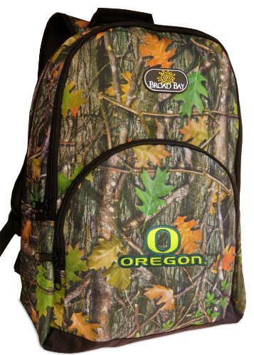 University Of Oregon Camo Backpack Uo Ducks Ncaa Logo For Travel Or School Bags, Camping Hunting