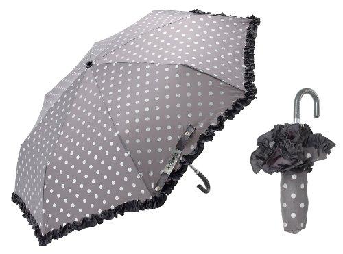 lisbeth dahl taschenschirm regenschirm grau mit glitzer und r sche regenschirm. Black Bedroom Furniture Sets. Home Design Ideas