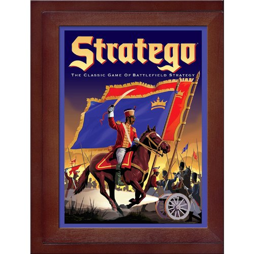 Parker Brothers Vintage Game Collection Exclusive Wooden Book Box Stratego