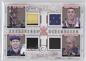 Seattle Slew, Isiah Thomas, Payne Stewart, Tito Ortiz #3 10 Detroit Pistons (Trading... by Sportkings Series E