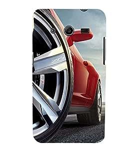 Fantastic Car 3D Hard Polycarbonate Designer Back Case Cover for Samsung Galaxy Core 2 G355H