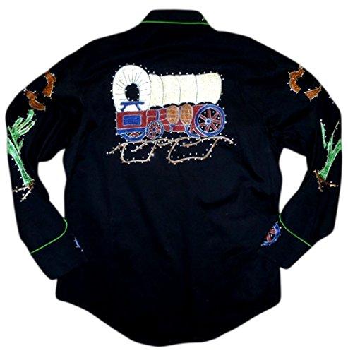 Rockmount Mens Porter Wagoner Vintage Country Western Shirt 1