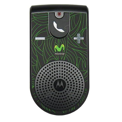 Motorola T307 Black With Green In-Car Visor Mount Bluetooth Speakerphone Car Kit In Bulk Packaging