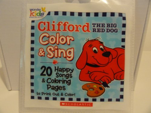 Clifford the Big Red Dog: Color and Sing: Happy Songs [Audio CD / CD-ROM] - 1