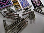 Bead Loom Slider Clasp Combo Pack, 18...