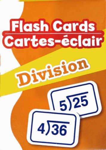 Flash Cards - Division