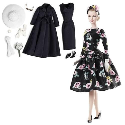 Hot Silkstone Grace Kelly Romance Barbie NRFB