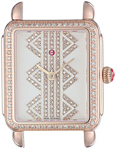 MICHELE-Womens-Deco-II-Swiss-Quartz-Stainless-Steel-Casual-Watch-ColorRose-Gold-Toned-Model-MW06I01B4980