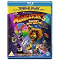 Madagascar 3: Europe's Most Wanted - Triple Play (Blu-ray + DVD + Digital Copy) [Region Free]