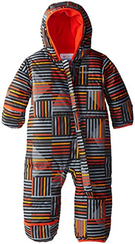 Columbia Baby-Boys Infant Snuggly Bunny Bunting, State Orange Print, 12/18 Months front-1067899