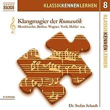 Klangmagier der Romantik (KlassikKennenLernen 8) Hörbuch von Stefan Schaub Gesprochen von: Stefan Schaub