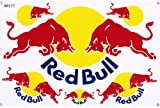 Blue Logo - Red Bull 6 Pieces - Die-cut Stickers