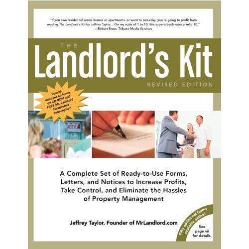 Mrlandlord Toolkit Book