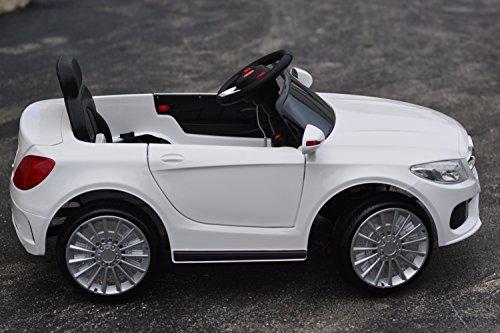 Ride on toys 2016 elite white power wheels mercedes benz for Mercedes benz power wheels car
