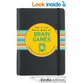The Little Black Book of Brain Games (Brain Teasers)