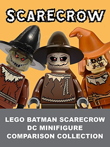 LEGO Batman Scarecrow DC Minifigure Comparison Collection