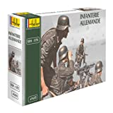 Heller German Infantry Model Kit (Set Of 48) (1/72 Scale)