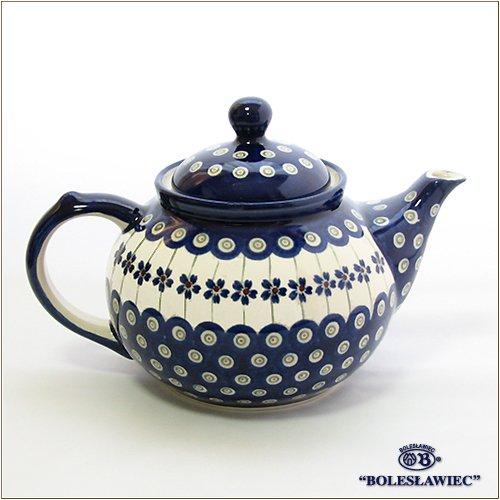 [Boleslawiec/ボレスワヴィエツ陶器]ティーポット(1.25L)-166