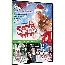 Santa Who/Santa Claus Conquers/Santa Claus/Miracle on 34th S - 4-pack
