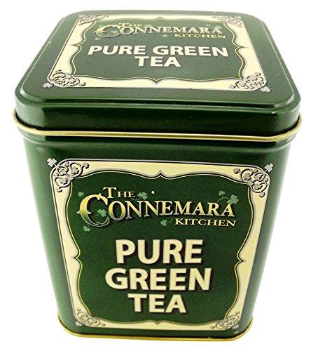 The Connemara Kitchen Pure Green Tea In Vintage style Green Tin 0