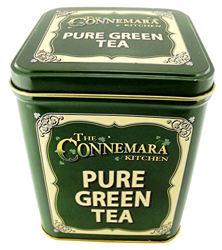 The Connemara Kitchen Pure Green Tea In Vintage style Green Tin 0