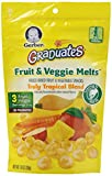Gerber Graduates Fruit and Veggie Melts, Truly Tropical Blend, 1 Ounce (Pack of 7)