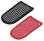 Lodge Striped Hot Handle Holders/Mitt...