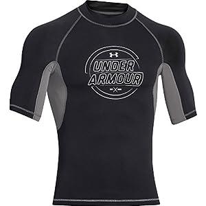UA Ames Rash Guard Men's Surf Short Sleeve T-Shirt