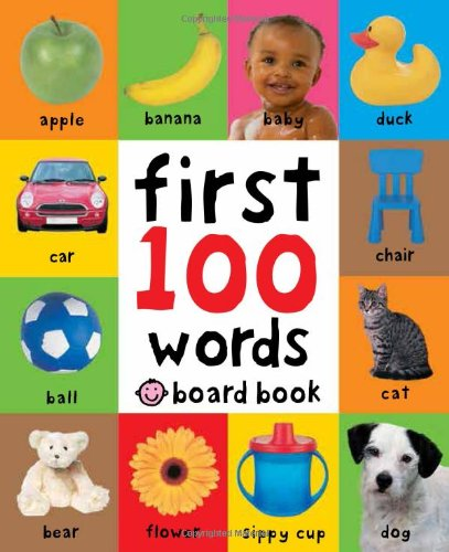 my first words baby board book vocabulary