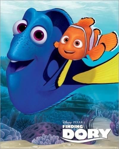 Poster Finding Dory - Dory & Nemo - manifesto risparmio, cartellone XXL