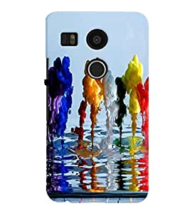 LG NEXUS 5X MULTICOLOR PRINTED BACK COVER FROM GADGET LOOKS