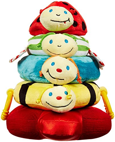 Edushape 925105 Happy Baby Stacker Baby Toy