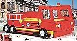 Feuerwehr Doppelbett ausziehbar 200 x 90 cm thumbnail