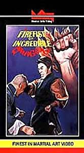 Firefist of Incredible Dragon [VHS]