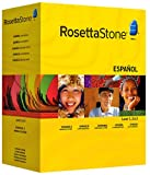 Rosetta Stone Version 3: Spanish (Latin America) Level 1, 2 and 3 Set with Audio Companion (Mac/PC CD)