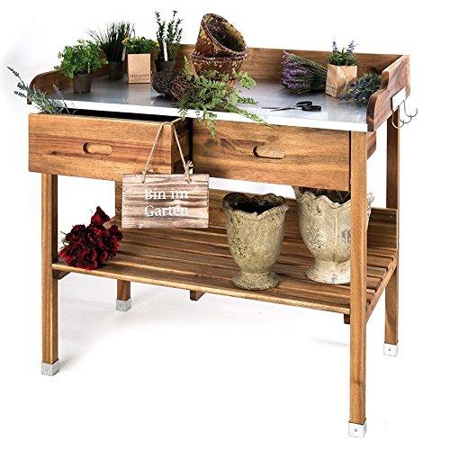 unimet pflanztisch akazie pflanztisch akaz ie 140389 preisvergleich gartenm bel. Black Bedroom Furniture Sets. Home Design Ideas