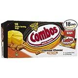 Combos Cheddar Cheese Pretzel Snack 1.8 Oz Bag - 18 count (Tamaño: 18 count)