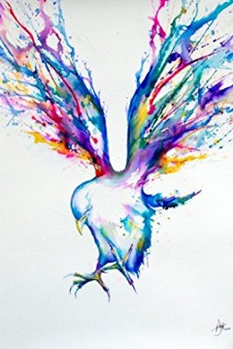 Achille Bird Marc Allante poster (60,96x 91,44cm)