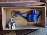 Bosmere V171GB Haws Spray-N-Sprinkle Gift Box Set with Green Watering Can and Brass Mister